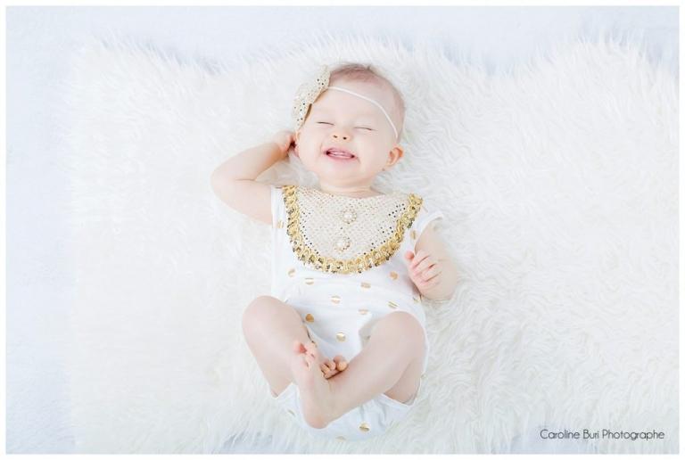 Séance Bébé 6-9 Mois - Test des Décors