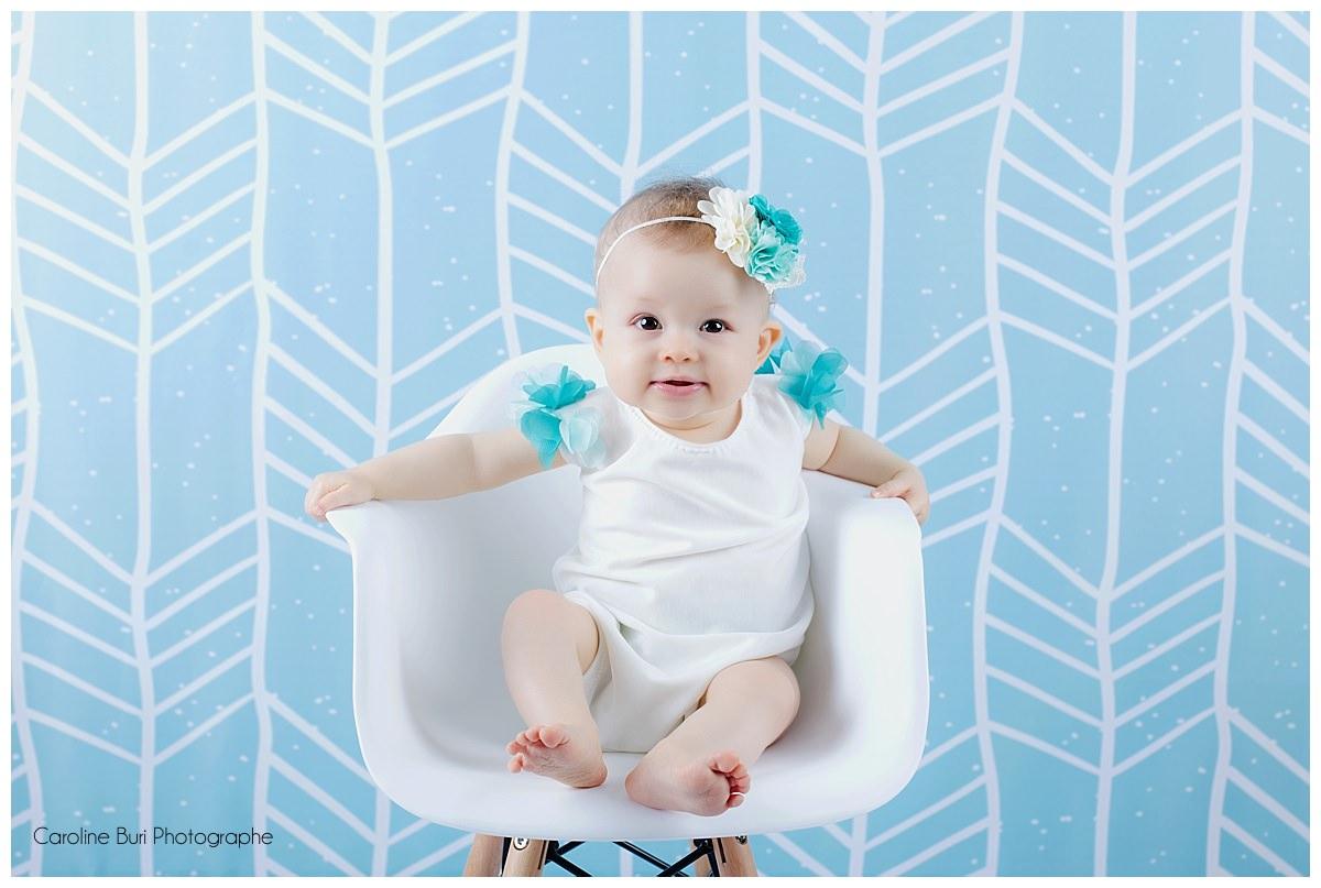 S ance b b 6 9 mois test des d cors caroline buri for Piscine bebe 6 mois