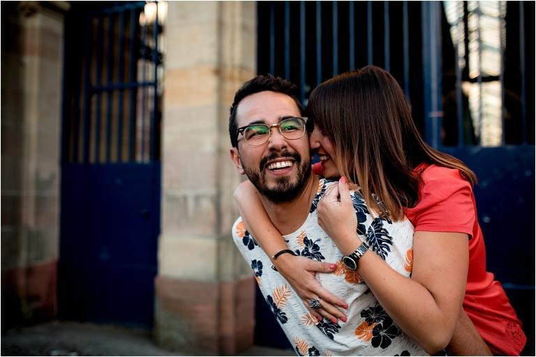 Une séance photos Couple en mode Urbain