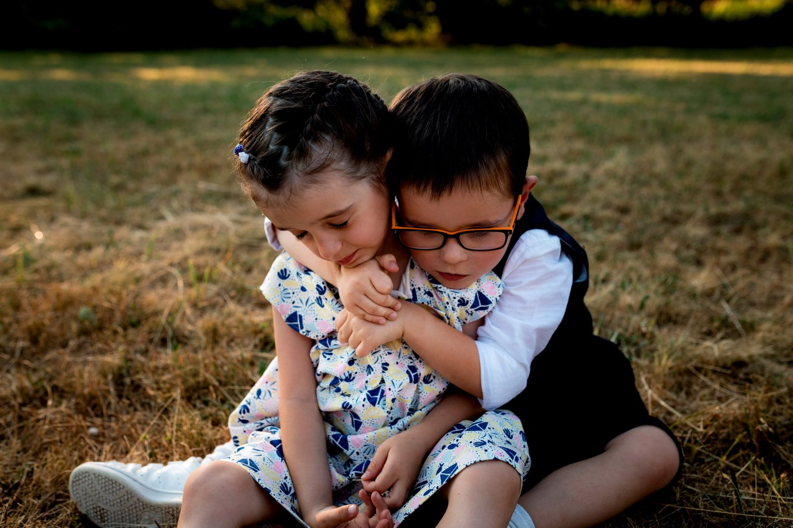 séance photos en famille enfant campagne strasbourg